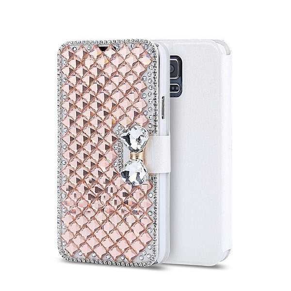 Core Prime Crystal Wallet Galaxy Flip Case