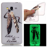 Samsung - Galaxy Core Prime Luminous Transparent Soft Case