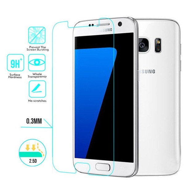 Galaxy S-Series Transparent Tempered Glass