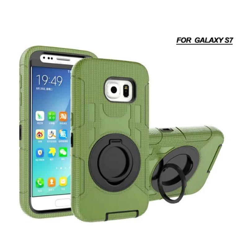 4 in 1 Full Protective Shockproof Armor Galaxy Case