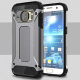 Samsung - Samsung Galaxy S7/S7 Edge 2 In 1 Hybrid Shockproof Case