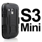 Samsung - Samsung S Series Future Armor Case With Belt Holster And Kickstand
