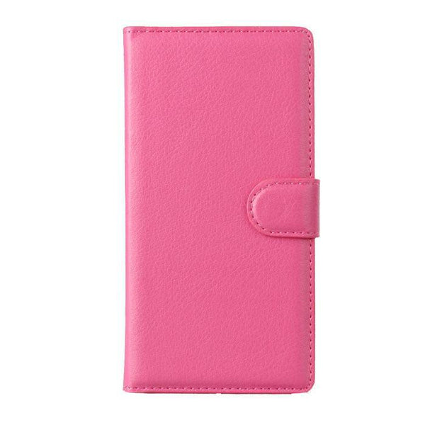 Leather Wallet Xperia Z3 Mini Stand Case