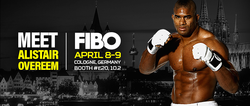 Meet Alistair Overeem - FIBO 2017