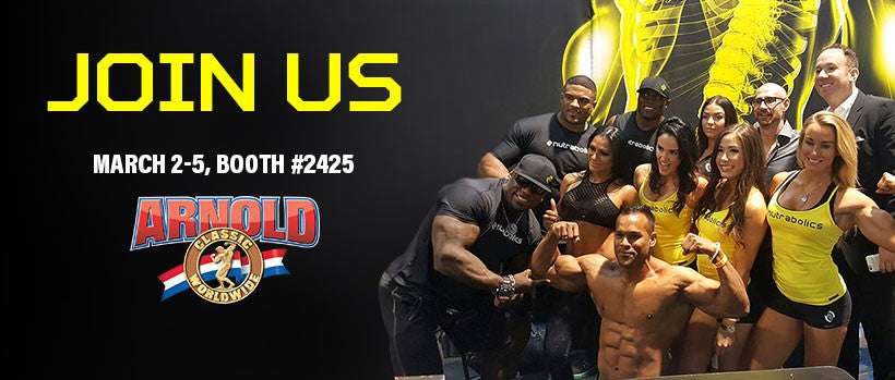 WE'RE ABOUT TO DOMINATE THE ARNOLD 2017
