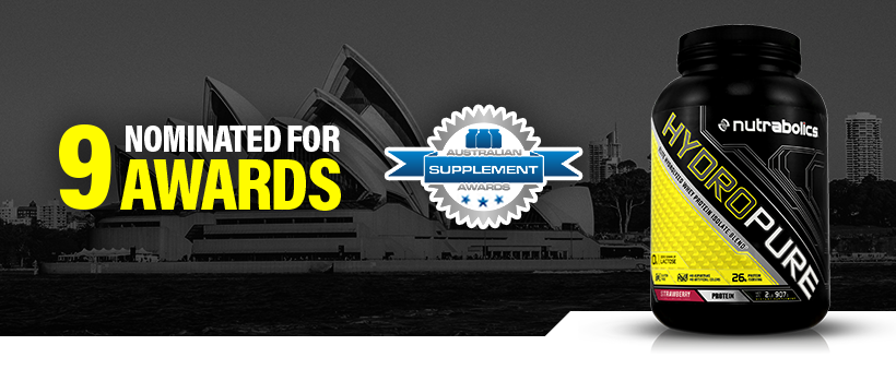 Nutrabolics Nominated In 9 Categories in the Third Annual Australian Supplement Awards!