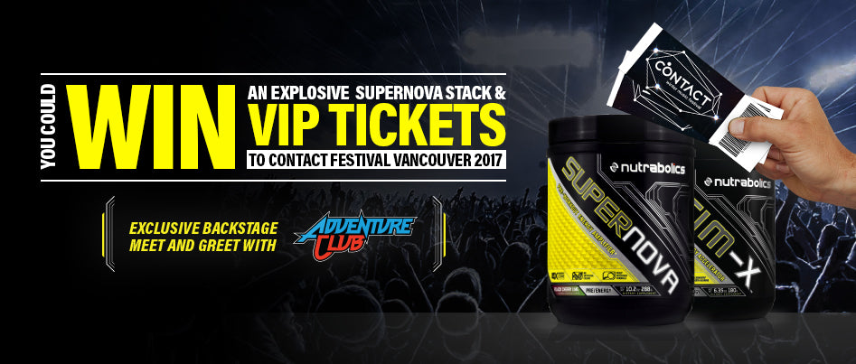WIN AN EXPLOSIVE STACK & VIP TICKETS TO CONTACT 2017