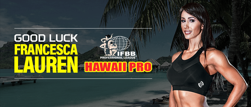Good Luck Francesca at the 2017 Hawaii Pro