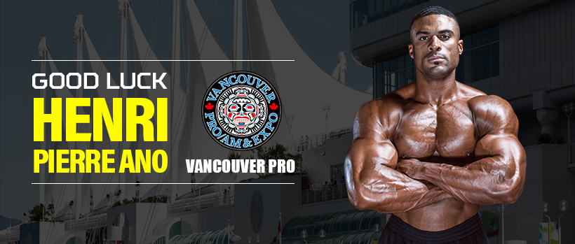 GOOD LUCK HENRI-PIERRE ANO at the 2017 VANCOUVER PRO