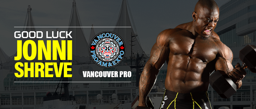 GOOD LUCK JONNI SHREVE at the 2017 VANCOUVER PRO