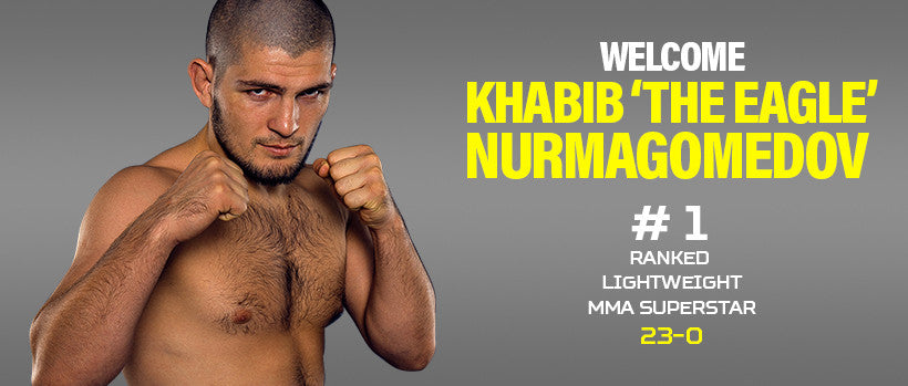 Welcome Khabib 'The Eagle' Nurmagomedov