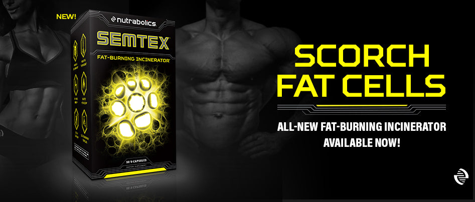 THE INDUSTRY'S STRONGEST LEGAL FAT-BURNER IS HERE