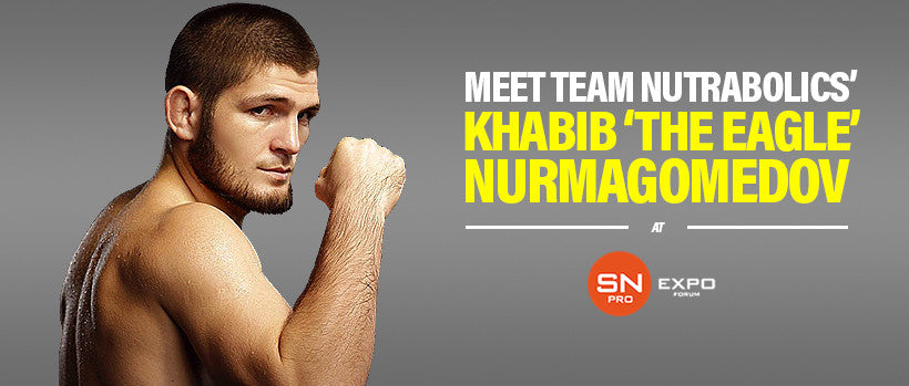 Meet Team Nutrabolics and Khabib Nurmagomedov at SN-Pro Russia 2016