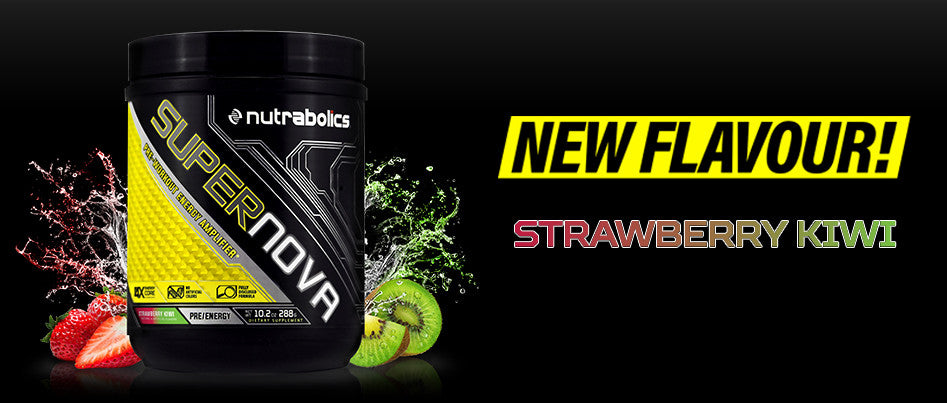 All-new Supernova Strawberry Kiwi!