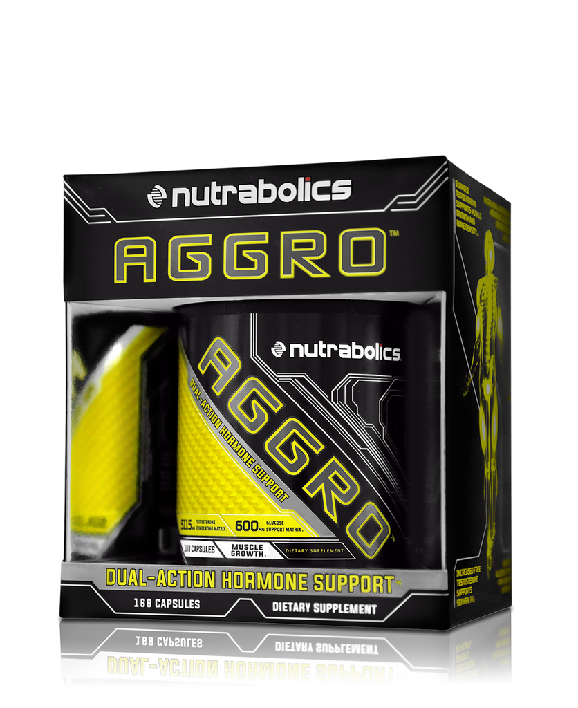 AGGRO™ - Dual-Action Anabolic Hormone Amplifier – Nutrabolics