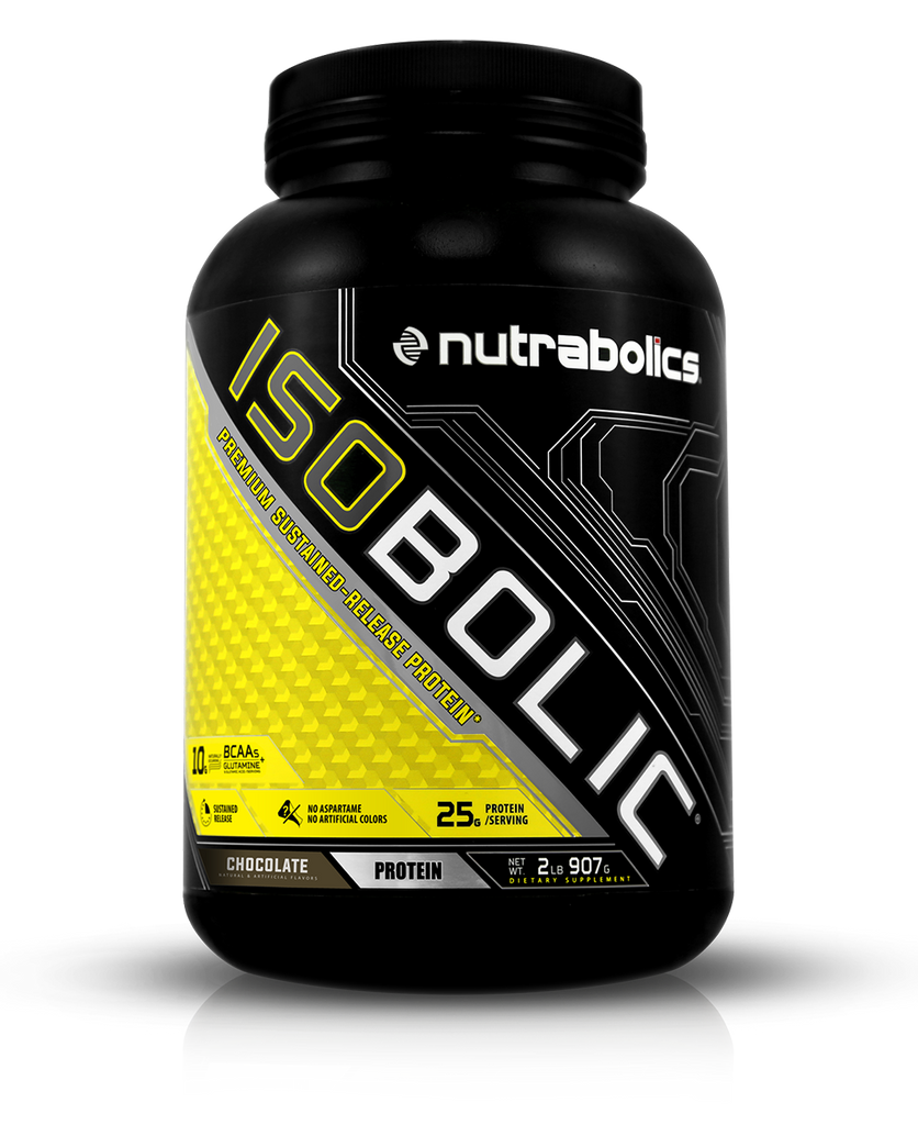Isobolic Premium 8 Hour Sustained Release Protein Nutrabolics Ultimate Nutrition Iso Mass Xtreme Gainer 10 Lbs Chocolate 2lb