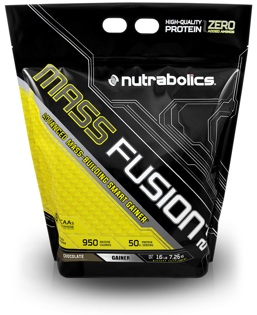 Mass Fusion 20 Ultra Premium Building Gainer Nutrabolics Elite Labs Muscle Lbs