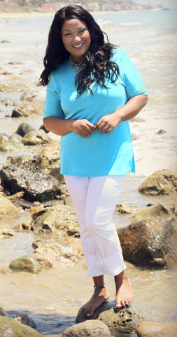 df14d69ee2 Plus Size Beach Vacation Outfits - PlusbyDesign.com
