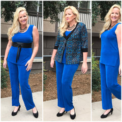 Plus size separates