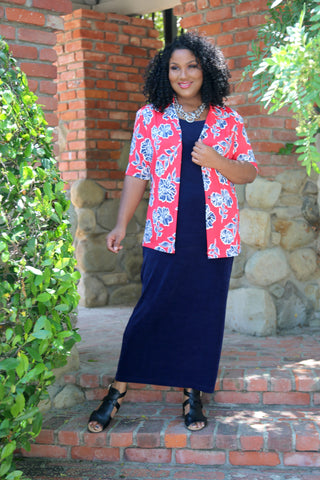plus size sightseeing outfit