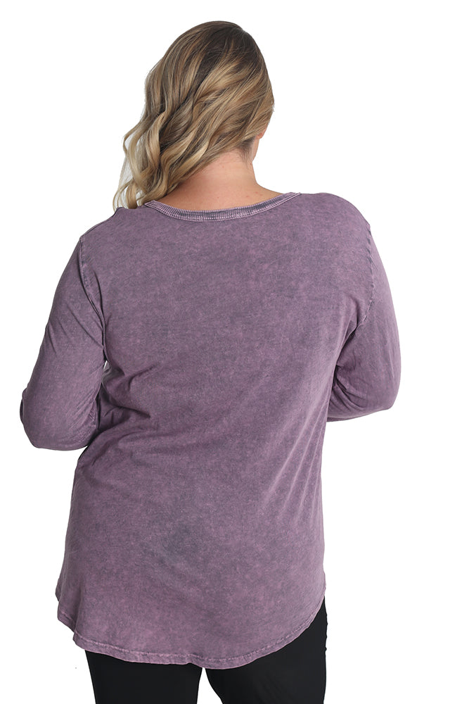 Jess and Jane Distressed Ascent Tunic
