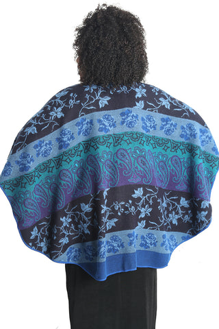 Parsley and Sage Blue Astrid French Cape