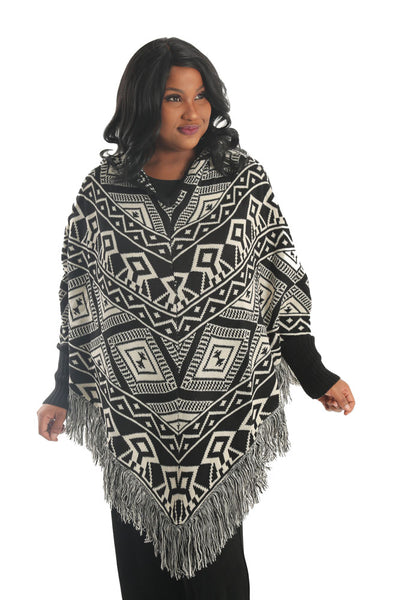 Divas Limited Camila Hooded Poncho