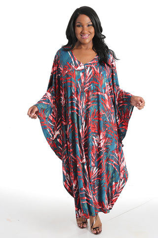 Allegra in a caftan