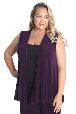 plus size jackets and vests