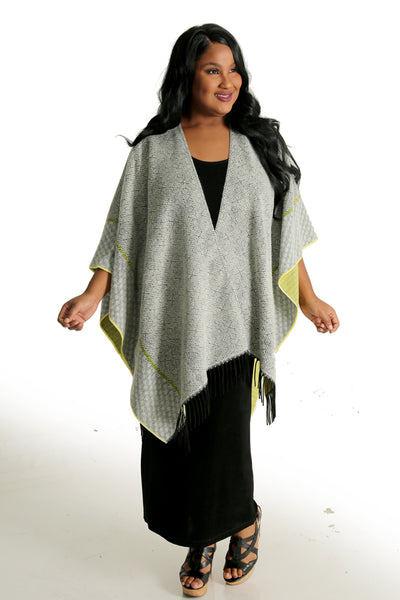 Parsley and Sage Fluo Chic French Cape