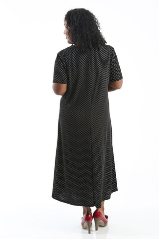 JoStar Mini Dot Short Sleeve Dress