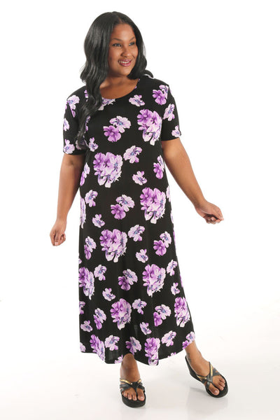 JoStar Violet Short Sleeve Dress