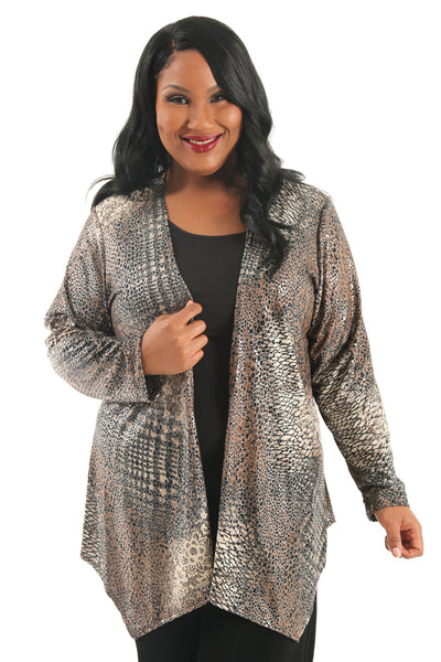 Vikki Vi Lavish Swing Cardigan