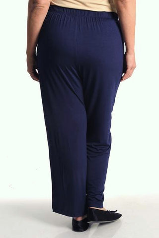 Vikki Vi Navy Bamboo Lounge Pull on Pant