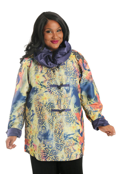 Lindi Paradise Reversable Windbreaker