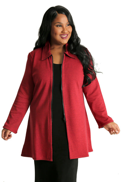 Parsley and Sage Reversable Marlow Jacket in Red