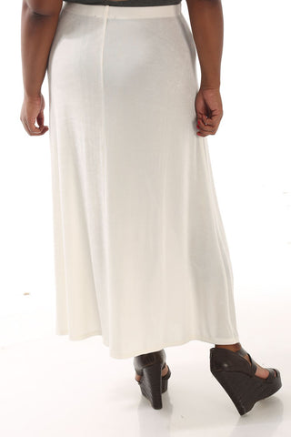 Vikki Vi Classic Natural Maxi Skirt