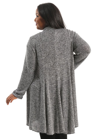 Vikki Vi Megan Swing Sweater Duster