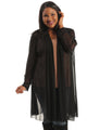 Vikki Vi Mesh Gored Duster