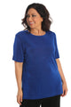 Vikki Vi Classic Royal Blue Short Sleeve Tunic