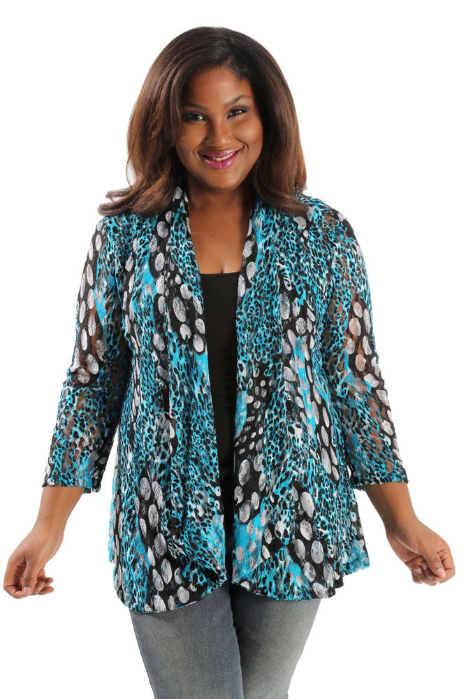 Vikki Vi San Tropez Fit and Flare Cardigan