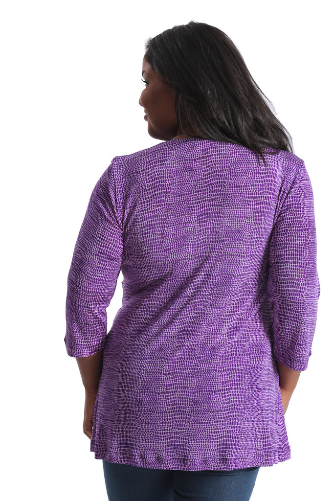 Vikki Vi Classic Sophia Cross Over Tunic
