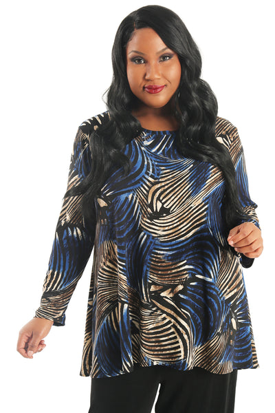 Vikki Vi Whitney Swing Tunic