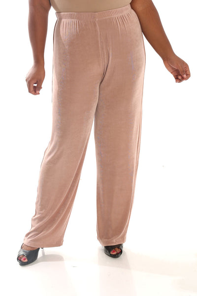 Vikki Vi Classic Blush Pull-On Pant