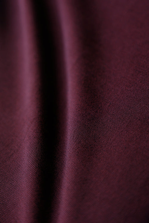 Vikki Vi Classic Heathered Burgundy Sleeveless Shell