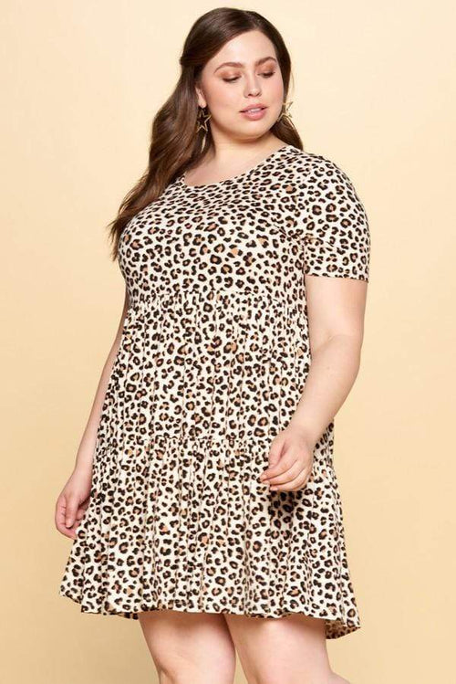 Dresses Oddi Leopard Tunic Dress