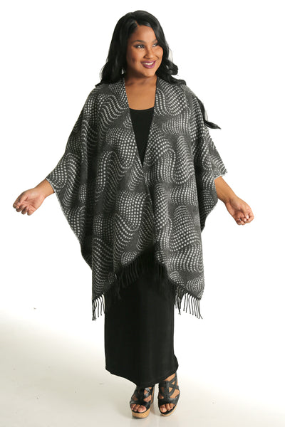 Parsley and Sage Gray Trois French Cape