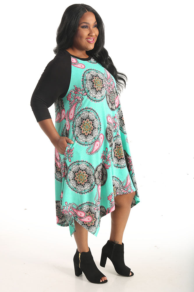 Janette Plus Lola Long Tunic