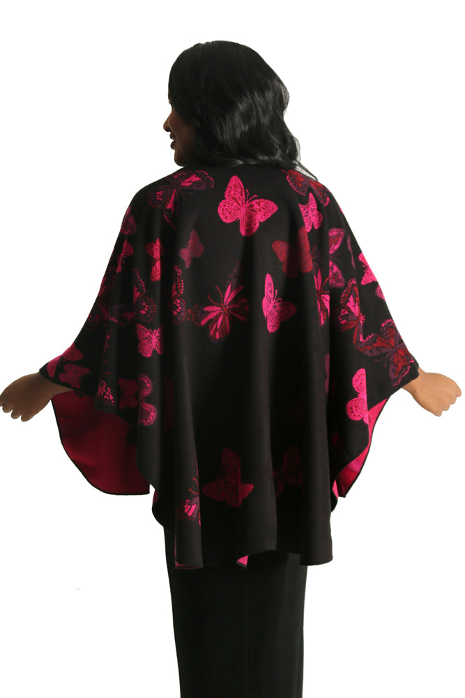 Parsley and Sage Butterfly French Cape