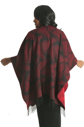 Parsley and Sage Red Trois French Cape